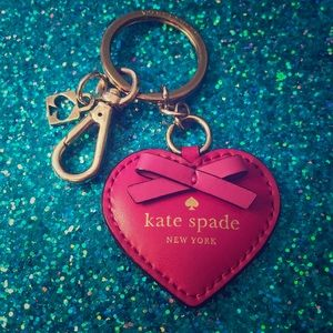 Kate Spade Pink Keychain!